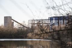 20150406 7615VRAw [D~SHG] Kieswerk, Baggersee, Rinteln