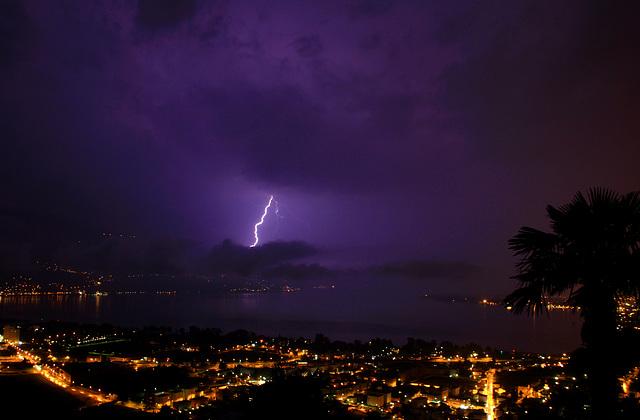 Gewitter über dem Lago Maggiore (© Pipo63)