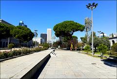 Nuevos Ministerios and Azca, Madrid.