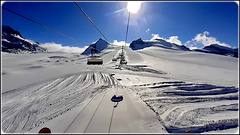 Zermatt : le piste alle spalle del Monterosa italiano