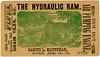 The Hydraulic Ram, Darius L. Kauffman, Garfield, Pa., 1880s