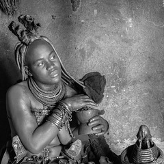 Namibie-Femme Himba