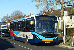 Stagecoach 26160 in Havant  - 25 November 2017