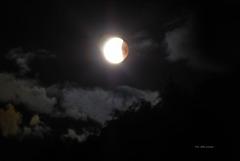 Mondfinsternis ...  oder ... Das Auge im Weltall