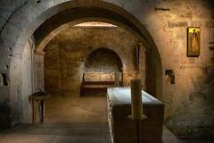Marseille - Cryptes de l'Abbaye Saint-Victor