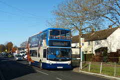 Stagecoach 18516 in Havant - 25 November 2017