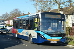 Stagecoach 26156 in Havant - 25 November 2017