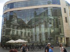 Mirror building.