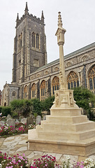 Cromer church and War memorial