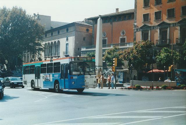 EMT (Palma de Mallorca) 851 - 28 Oct 2000