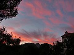 ...le jour se lève,sur les Calanques...
