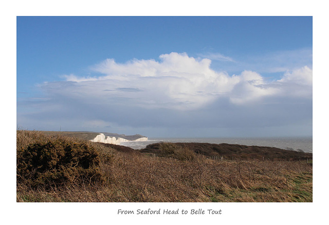 From Seaford Head to Belle Tout, Sussex - 28.3.2016