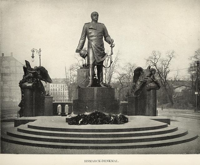 Album von Dresden: Bismarck-Denkmal