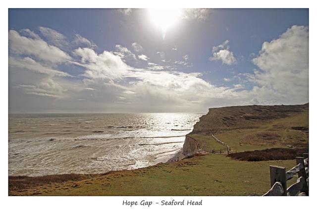 Hope Gap, Seaford Head, Sussex - 28.3.2016