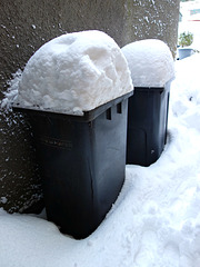 This snow is rubbish!