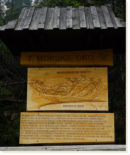 Morskie Oko lake explained