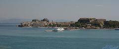 A glimpse of Corfu
