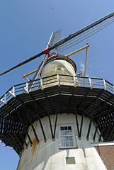 Nederland - Willemstad, d'Orangemolen