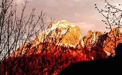 Abendliches Alpenglühen... ©UdoSm