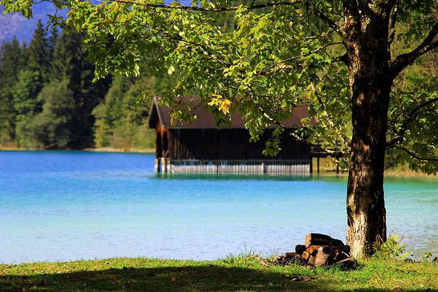 Türkisblauer Walchensee (© Pipo63)
