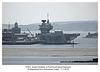 HMS Queen Elizabeth in Portsmouth Naval base 11 7 2019