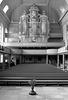 Kirchenschiff und die Wiegleb-Orgel