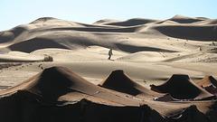 2 Aube sur  dunes MAROC