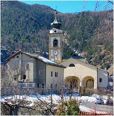 Oulx : la Chiesa di S.Maria Assunta - (729)