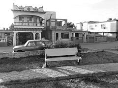 Banc et pizzas (Cuba)