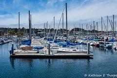 Monterey,  California - Fisherman's Wharf Marina 001