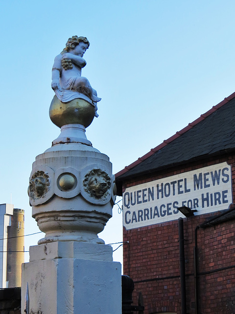queen hotel mews, chester