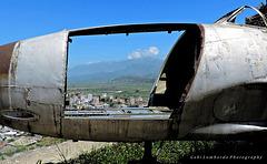 Lockheed 33T at the Fort of Gjirokastra (Albania)