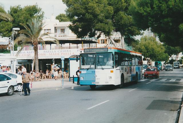 EMT (Palma de Mallorca) 861 (PM 6233 BF) - 25 Oct 2000