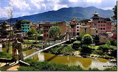 """Arriving in Panauti"" - Kathmandu Valley - NEPAL"