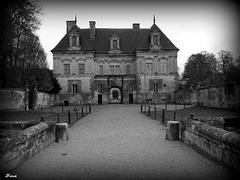 Entrée du chateau de Tanlay