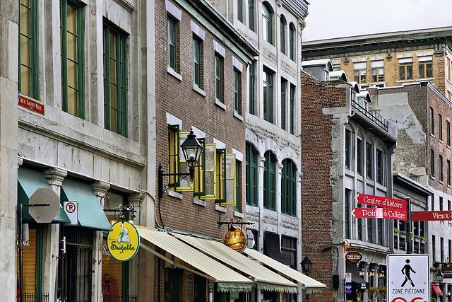 Centre d'histoire – St-Paul Street at St-Laurent, Montréal, Québec