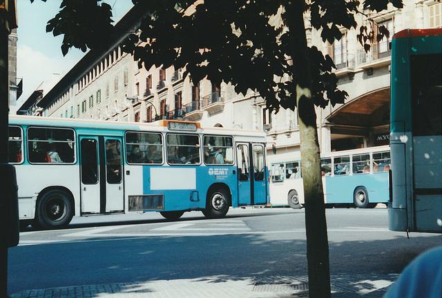 EMT (Palma de Mallorca) buses - 28 Oct 2000