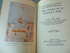 Frontispiece and title page, The Story of a Woolly Dog