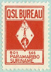 VRAS QSL stamp (1987)