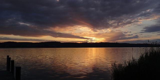 madrugada - Lago de Constanza
