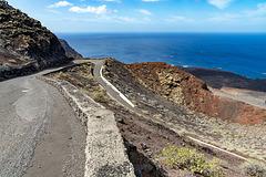 driving through lava