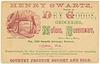 Henry Swartz, Dealer in Dry Goods, York, Pa.