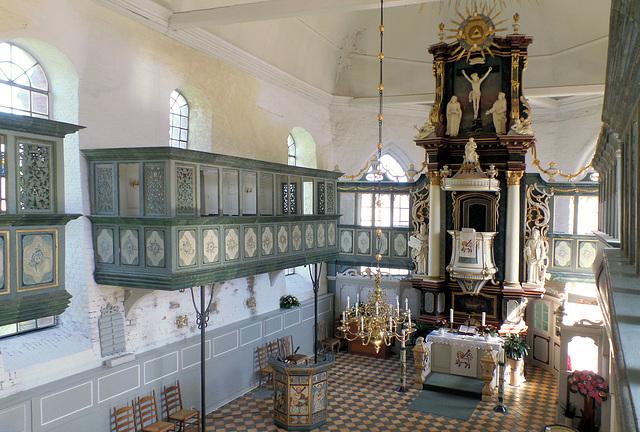 Innenraum der Kirche St. Martini et Nicolai (Steinkirchen)
