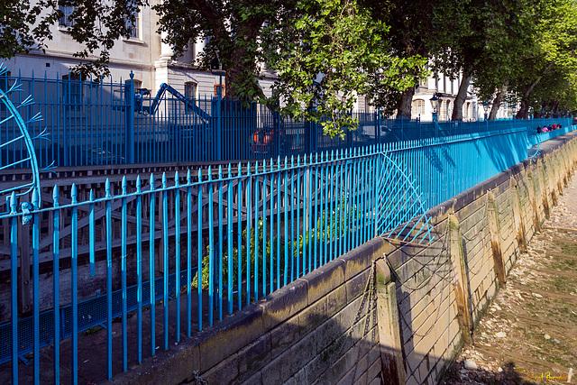 HbFF (Happy blue Fence Friday)!