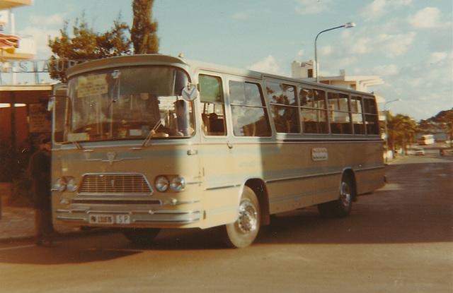 Autocares Calviá bus - Nov 1970