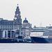 Queen Victoria visiting Liverpool