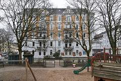 Spielplatz, Keplerstraße, 12.2. 2015