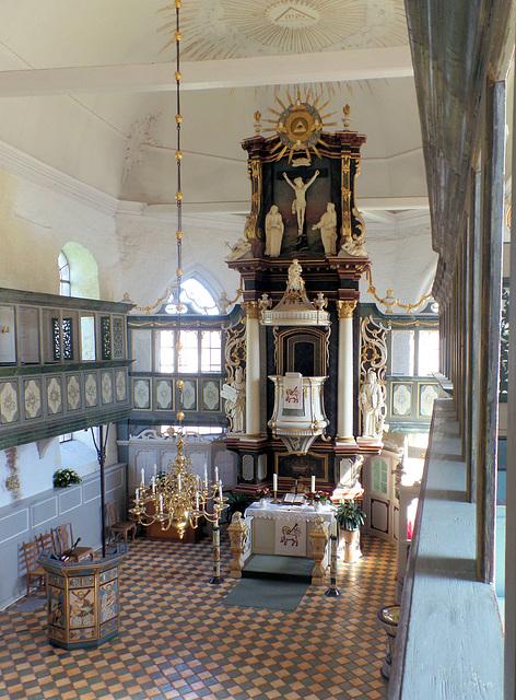 St. Martini et Nicolai (Steinkirchen): Altar