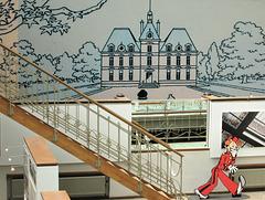 Marlinspike Hall, Captain Haddock's home, Belgian Comic Strip Museum.