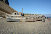 Svalbard, Billefjørden Coast, Wrecked Fishing Boat
